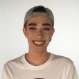 James Charles annonce sur Instagram qu'il est le nouveau visage de CoverGirl, le 11 octobre 2016.