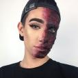 James Charles, petit génie du maquillage, sur Instagram - octobre 2016.