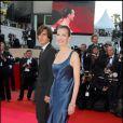 Carole Bouquet et son fils Dimitri Rassam à Cannes en 2007