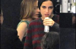 PHOTOS : Lindsay Lohan la classe en Dior, mais sa petite amie manque vraiment de tenue !