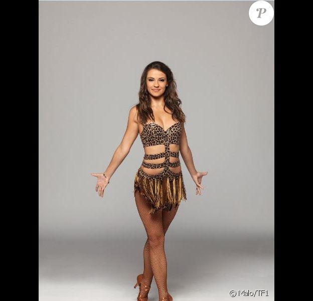 "Denitsa Ikonomova danseuse de ""Danse avec les stars 7"", photo officielle"