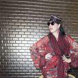 """Rossy de Palma - People au défilé de mode Haute-Couture automne-hiver 2016/2017 """"Jean-Paul Gaultier"""" à Paris. Le 6 juillet 2016 © Olivier Borde/ Bestimage"""