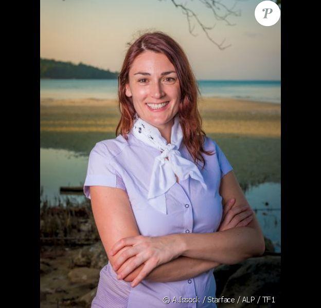 """Julie, candidate de """"Koh-Lanta, L'île au trésor""""."""