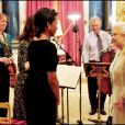 Elizabeth II reçoit Condolezza Rice