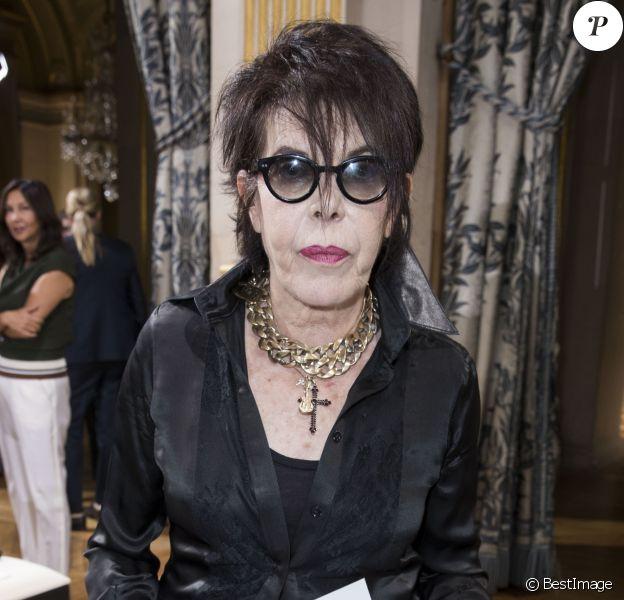 """La chanteuse Dani - People au défilé de mode prêt-à-porter printemps-été 2017 """"Lanvin"""" à Paris. Le 28 septembre 2016 © Olivier Borde / Bestimage"""