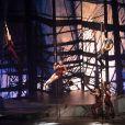 """Exclusif - David Ban (Porthos) - Générale de la comédie musicale """"Les 3 mousquetaires"""" au Palais des Sports à Paris le 7 octobre 2016. © Coadic Guirec - Cyril Moreau / Bestimage"""