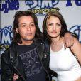 Edward Furlong et sa girlfriend à Hollywood en 2003.