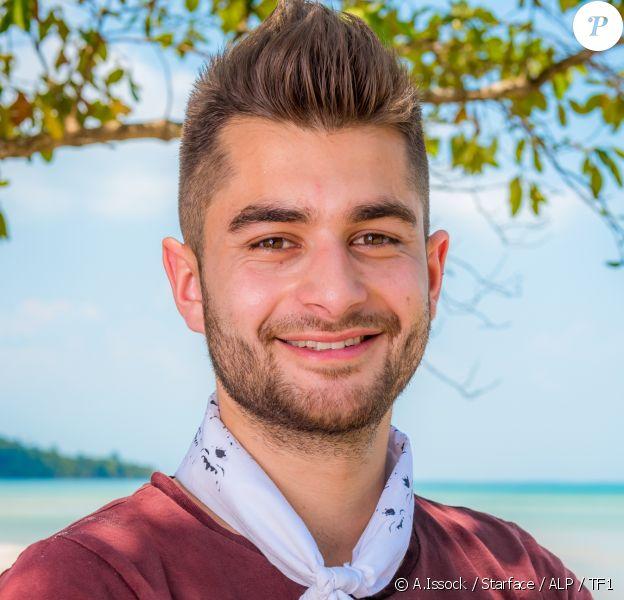 """Benoît, candidat de """"Koh Lanta : L'île au trésor""""."""