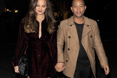 Chrissy Teigen et John Legend : Entre business et instants gaga avec Luna