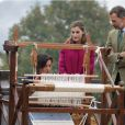 Le roi Felipe VI et la reine Letizia d'Espagne visitaient le 22 octobre 2016 Los Oscos, qui regroupe les communes de San Martin de Oscos, Villanueva de Oscos, Santa Eulalia de Oscos et a été désigné Village exemplaire des Asturies 2016.