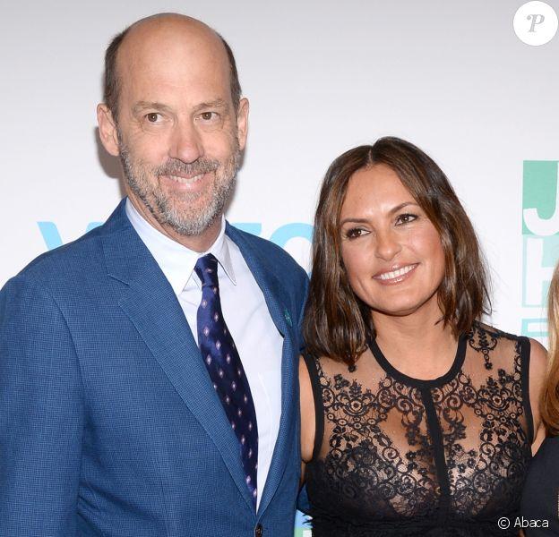 Anthony Edwards et Mariska Hargitay assistent à un gala de charité à New York le 6 mai 2015. J