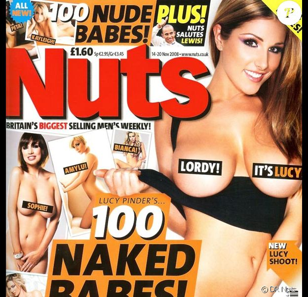 Lucy Pinder pour Nuts