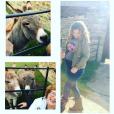 Geri Halliwell enceinte de son deuxième enfant, profite d'un week-end en famille à la campagne. Photo publiée sur Instagram à la fin du mois d'octobre 2016