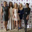 Mel B, Mel C, Geri Halliwell, Emman Bunton et Victoria Beckham à la première de Viva Glam à Londres, le 26 juin 2012