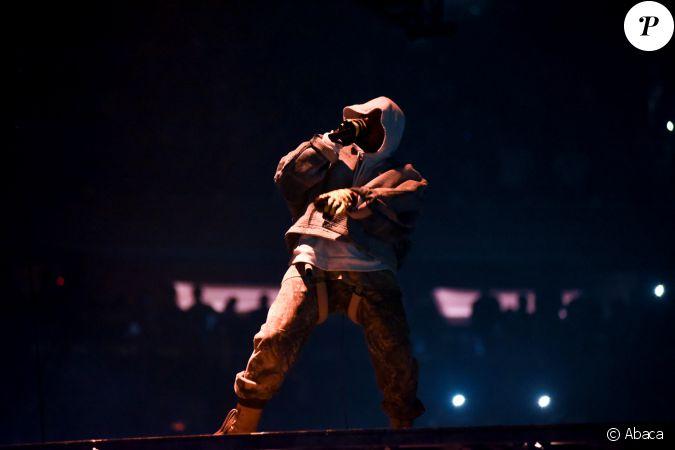 Kanye West Au Madison Square Garden New York Le 5 Septembre 2016