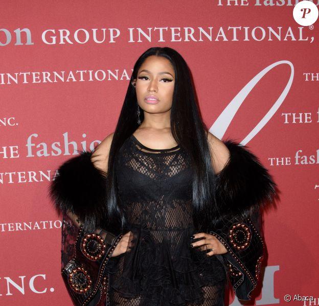Nicki Minaj - 2016 Night of Stars Gala organisée par le Fashion Group International au Cipriani 55 Wall St. New York, le 27 octobre 2016.