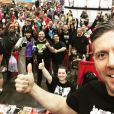 Ray Park lors du Super MegaFest Comic-Con. (photo postée le 24 septembre 2016)