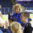 Le prince Harry visite Coach Core au Centre National Ice de Londres, le 27 octobre 2016.