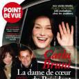 Nicolas Sarkozy officialise sa relation avec Carla Bruni