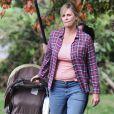 Charlize Theron a pris 15 kilos pour le film Tully, ici à Vancouver, le 26 septembre 2016