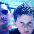 Gad Elmaleh a posté une photo de son fils Noé, petit, pour son anniversaire le 1er novembre 2016. Il a désormais 16 ans.