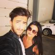 """La jolie Fanny de """"Secret Story 10"""", amoureuse de son fiancé Joao sur Instagram."""