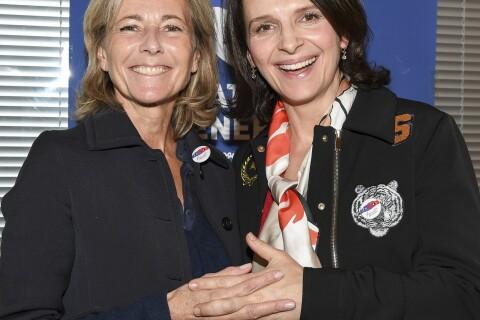 """Juliette Binoche et Claire Chazal, réunies pour un moment de """"Fraternité"""""""