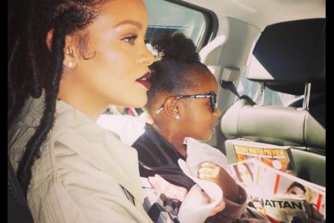 Rihanna : Instant câlin (et nu) avant sa rencontre avec le Prince Harry