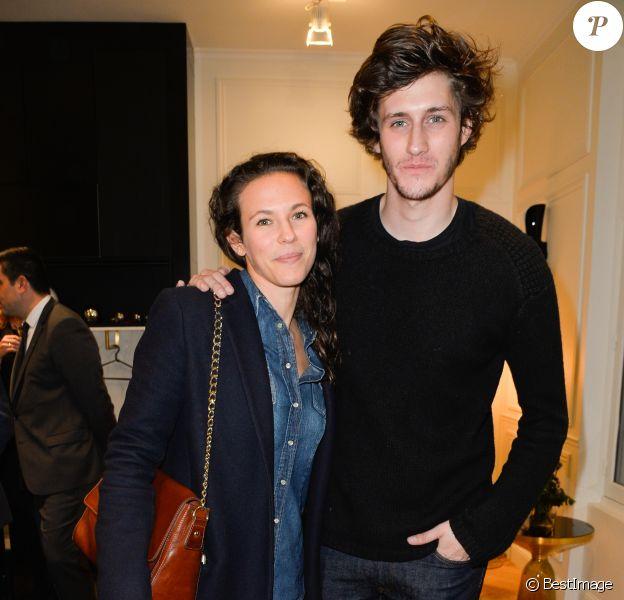 Semi-Exclusif - Lorie (Laure Pester) et Jean-Baptiste Maunierà la Soirée d'inauguration de la boutique Orange Opéra à Paris, le 7 novembre 2016. © Coadic Guirec/Bestimage