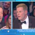 """""""Vif échange entre Matthieu Delormeau et Jean-Luc Lemoine dans """"Touche pas à mon poste"""" sur C8. Le 7 novembre 2016."""""""