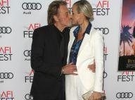 Johnny Hallyday et Laeticia : Tendre baiser au milieu des stars hollywoodiennes