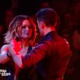 """Caroline Receveur et Maxime Dereymez - """"Danse avec les stars 7"""" sur TF1. Le 15 octobre 2016."""