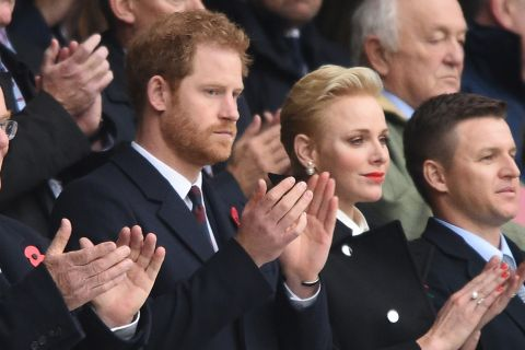 Charlene de Monaco et prince Harry : Complices passionnés du ballon ovale