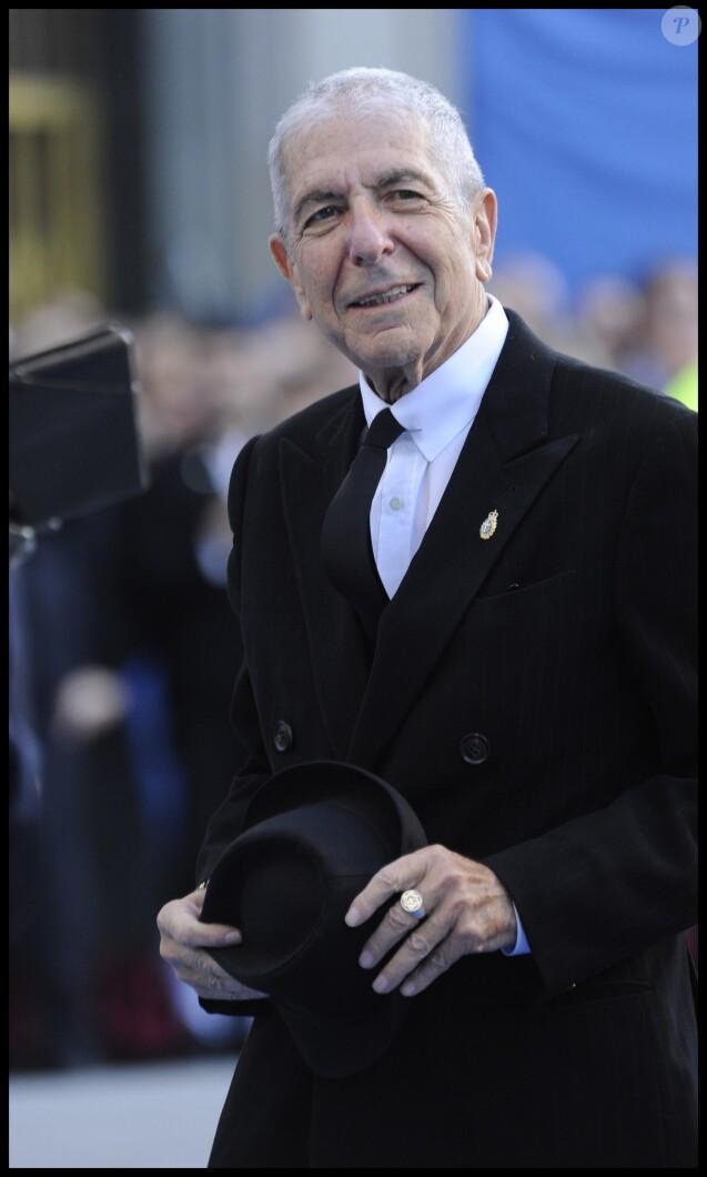 """Leonard Cohen - CEREMONIE DES """"PRINCE OF ASTURIAS AWARDS"""" A OVIEDO 21/10/2011"""