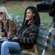 """Cate Blanchett et Rihanna sur le tournage de """"Ocean's Eight"""" à Central Park à New York, le 7 novembre 20163"""