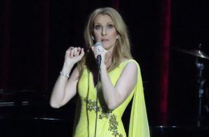 Céline Dion, rétablie, s'excuse :