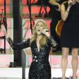 La diva Céline Dion au Caesars Palace à Las Vegas le 23 février 2016.