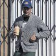 Exclusif - Jon Hamm est allé déjeuner au restaurant The Punchbowl à Los Feliz, le 26 octobre 2016
