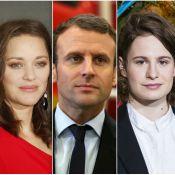 Marion Cotillard, Emmanuel Macron, Christine... Ces Français les plus influents