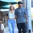 Kylie Jenner et son petit ami le rappeur Tyga à Beverly Hills, le 8 novembre 2016.