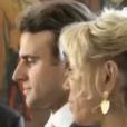 Images du mariage. Extrait d' Emmanuel Macron, la stratégie du météore , un documentaire de Pierre Hurel pour France 3, disponible en replay.