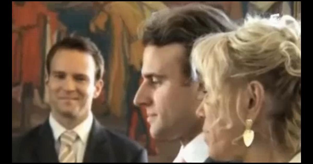 Emmanuel Macron et Brigitte  Leur mariage, des images rares et touchantes  , Purepeople