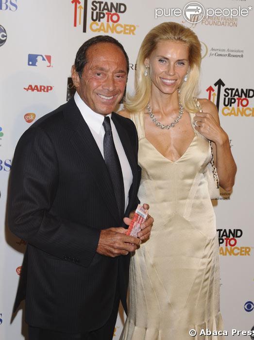 Paul Anka et sa femme Anna