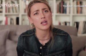 Amber Heard au bord des larmes : Ses premiers mots depuis le divorce...