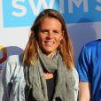 """Exclusif - Laure Manaudou - 2ème édition de l'Open Swin Stars """"Paris à la nage"""" au bassin de la Villette à Paris. Le 2 juillet 2016."""