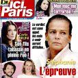 """Couverture du magazine """"Ici Paris"""" en kiosques le 30 novembre 2016."""