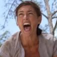 """""""Julie, à bout de force, explose et craque dans """"Koh-Lanta, L'île au trésor"""". Le 28 octobre 2016."""""""