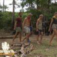 """Benoît, Bruno, Ludivine, Jesta et Candice - """"Koh-Lanta, L'île au trésor"""", le 2 décembre 2016 sur TF1."""