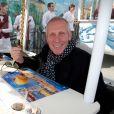 Plastic Bertrand - Déjeuner caritatif à l'occasion du carnaval de Nice avec de grands chefs. Le 20 février 2015