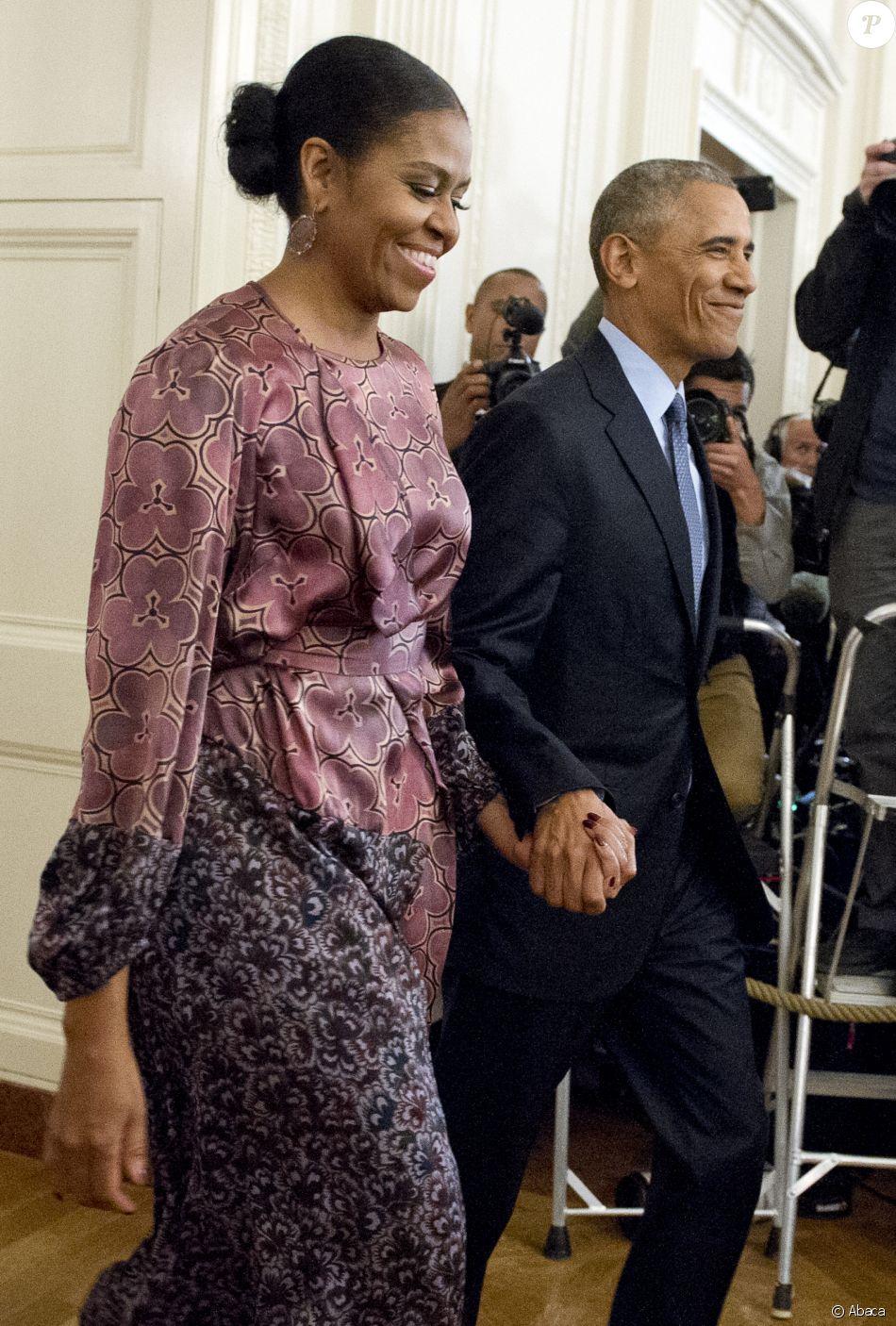 Barack et michelle obama la maison blanche washington for Barack obama a la maison blanche